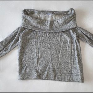 Express Off-The-Shoulders long sleeve top
